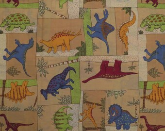 Set of 2 Dinosaur Standard pillow shams
