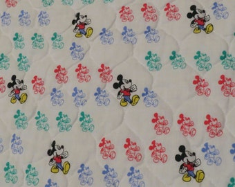 Vintage Mickey Mouse twin blanket