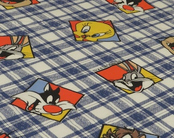 Vintage Looney Tunes Twin flat and fitted sheets