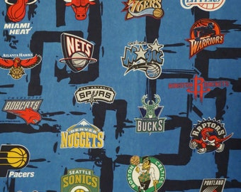 NBA Twin flat sheet from 2004