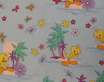 Tweety Bird Full sized flat sheet