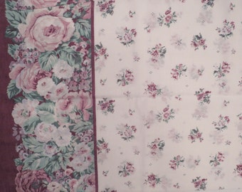 Set of 2 Vintage floral pillowcases