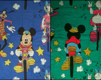 Vintage Mickey Mouse Twin Comforter