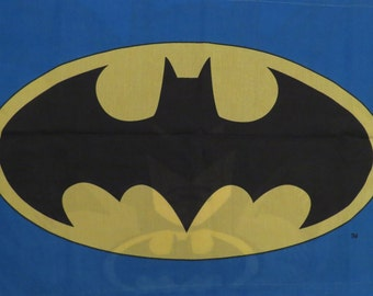Batman Pillowcase and Sham