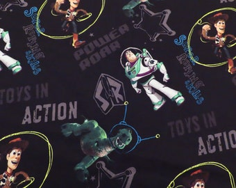 """Toy Story fabric from 2011 - """"Toys in Action"""""""