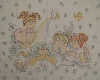 Vintage Cabbage Patch Kids standard pillowcase