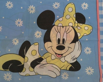 Vintage Minnie Mouse standard pillowcase