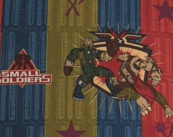 Vintage Small Soldiers Twin flat sheet