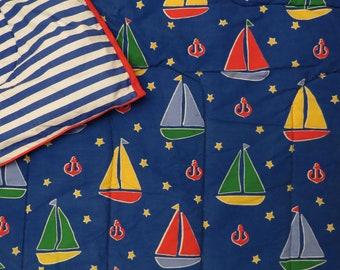 Vintage Sailboat Twin comforter