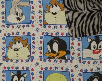 Vintage Baby Looney Tunes small blanket