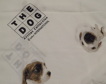 Vintage The Dog standard pillowcase