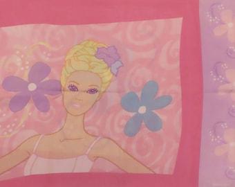Barbie Standard pillowcase from 2002