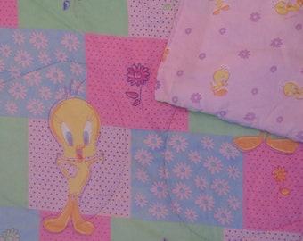 Vintage Tweety Bird twin comforter