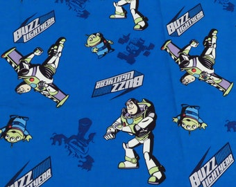 """Toy Story Fabric from 2011 - """"Buzz in Flight"""""""
