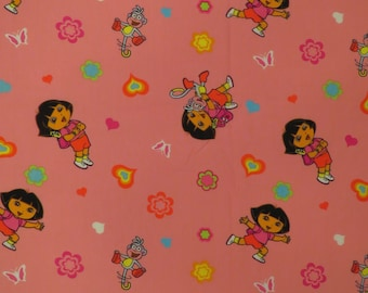 Dora the Explorer Toddler flat and fitted sheets