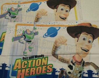 Set of 2 Toy Story standard pillowcases