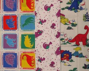 Vintage Dinosaur Fabric