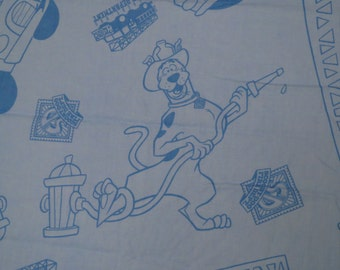 Scooby-Doo Crib top sheet
