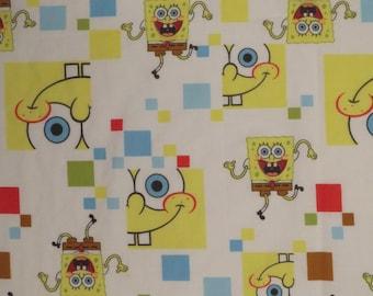 Spongebob Squarepants Crib flat sheet