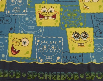 Spongebob Square Pants Twin flat and fitted sheets