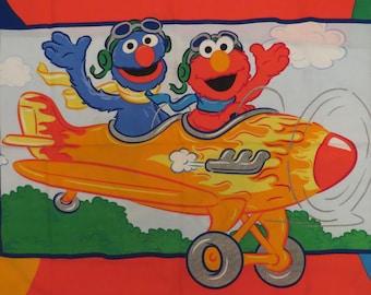 Sesame Street standard pillowcase