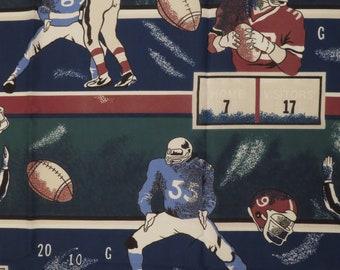 Vintage Football curtain panel