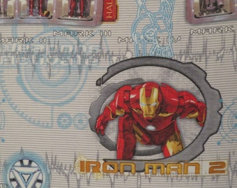 Iron Man Twin flat and fitted sheets