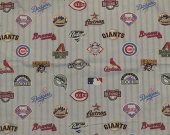Pottery Barn MLB standard pillowcase