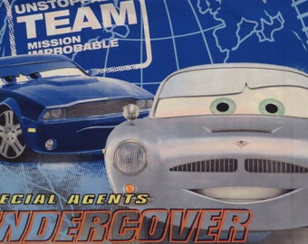 Pixar's Cars standard microfiber pillowcase