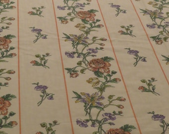 Vintage Louis Nichole Floral Twin flat and fitted sheets
