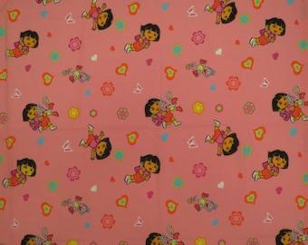 Dora the Explorer Toddler flat sheet