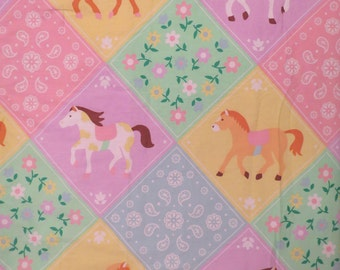 Cute Pony Full sized comforter and pillow sham