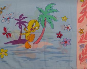Tweety Bird standard pillowcase