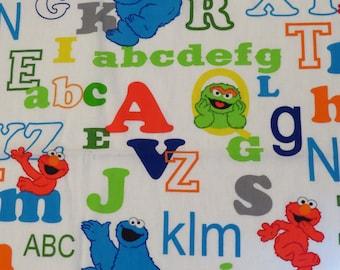 Sesame Street Toddler flat sheet