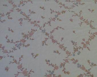 Vintage Floral Twin sheet set -includes flat, fitted, and pillowcase