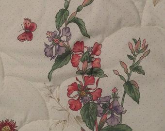 Vintage Floral Twin bedspread