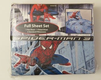 Spider-man 3 Full sized sheet set -New in package