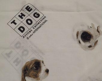 Vintage The Dog standard pillowcase