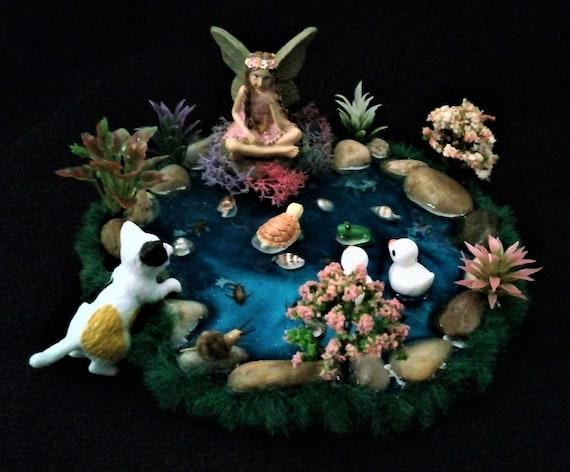 Build Your Own Fairy Garden Pond