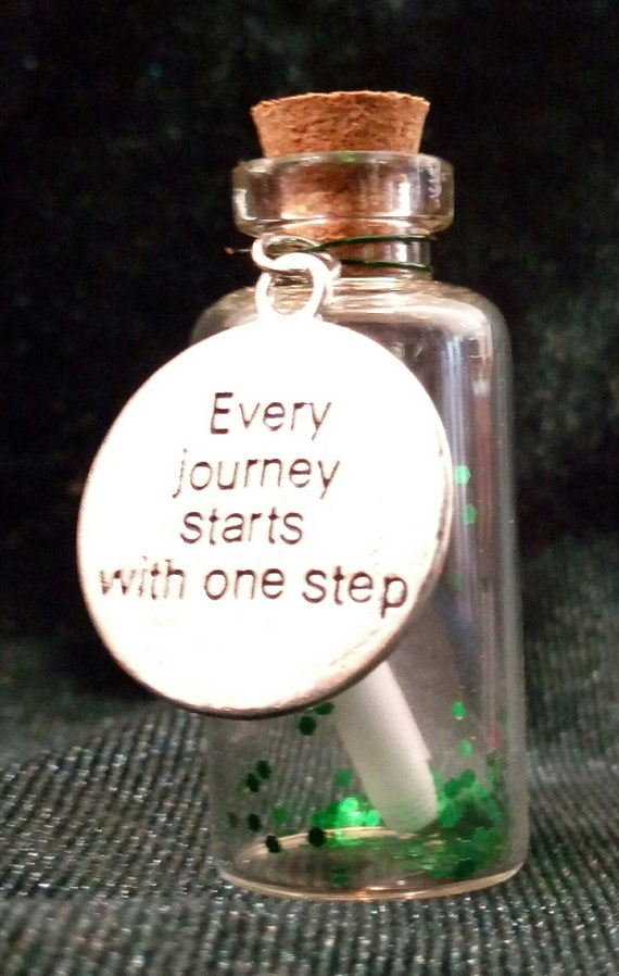 Inspirational Message in a Bottle