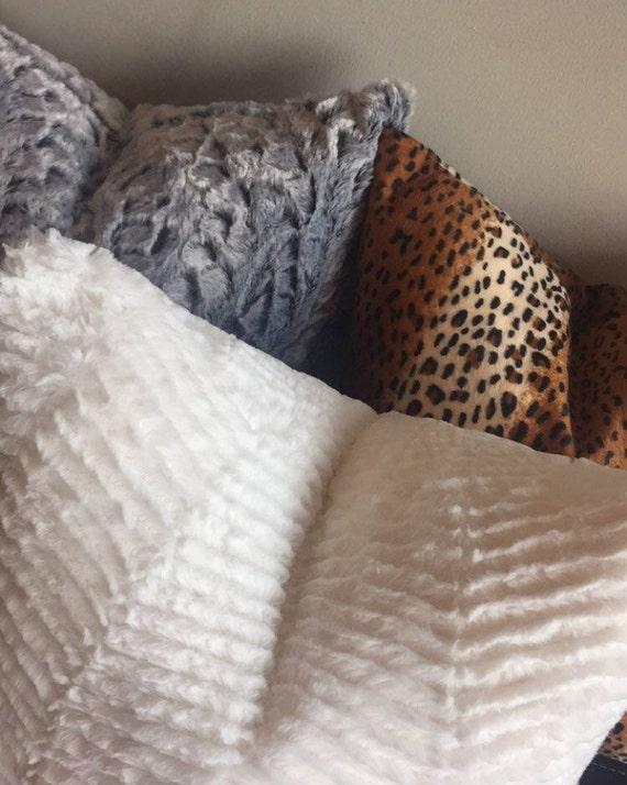 Chui Throw Pillow Leopard Print Pillow Cover Accent Pillow Etsy