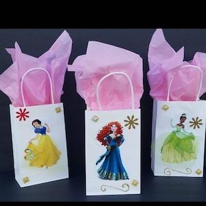 INSPIRED 12pcs Disney  4 of Snow White of tiana 4 of Merida