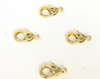 18 K Gold filled Lobster Clasp   Gold filled clasp