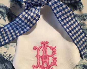 Gothic Monogrammed Napkins Set of 6