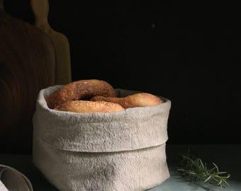 linen bread bowl