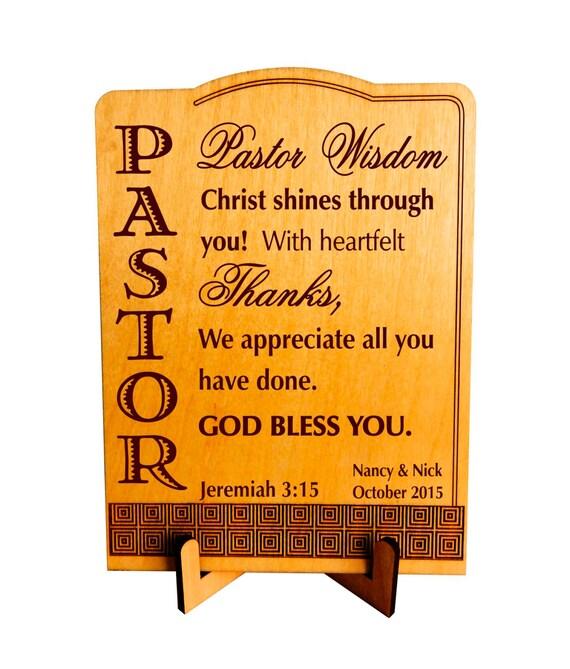 Cadeau De Mariage De Pasteur Cadeaux Religieux Pour Pasteur Noel Plaque Cadeau De Remerciement Plp048