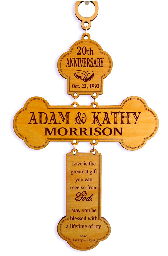 20th Anniversary Gifts For Couple Gift For Wedding Etsy