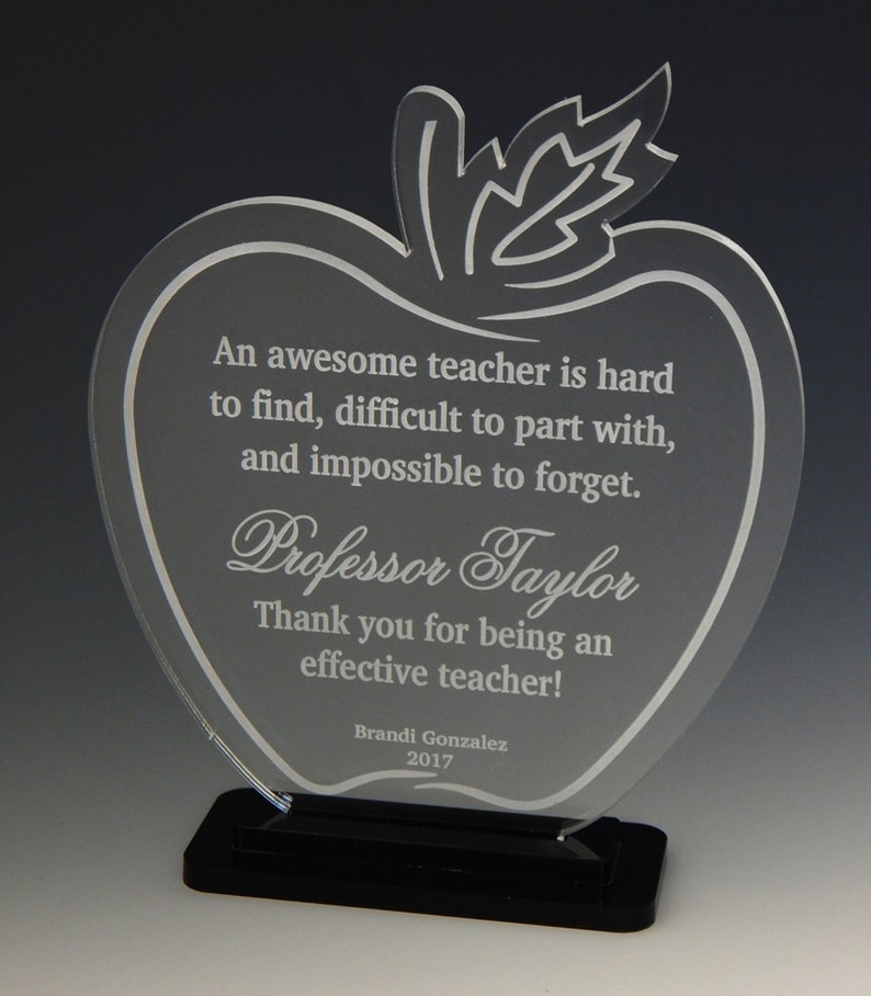 Gift for College Teacher  Professor Gifts  Teachers Thank image 0