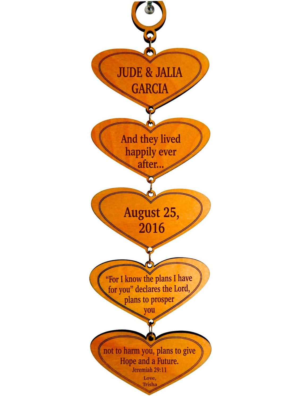 Personalisierte Hochzeit Geschenk für paar Geschenke für | Etsy