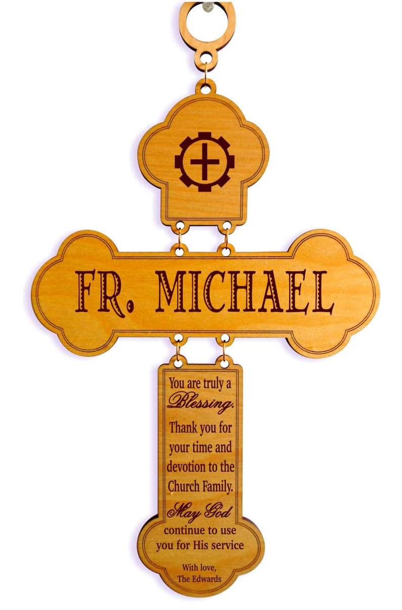 Catholic Priest Gift  Gifts for Orthodox Priest Appreciation image 0